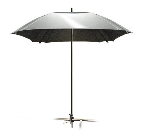 Magma Products, B10-403 Cockpit 100-Percent UV Block Reflective Umbrella, Silver