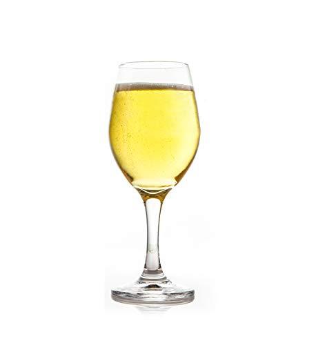 Duck House Clear Wine Glass   Premium Glassware   Lead-Free   BPA-Free   12oz