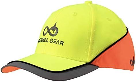 Merkel GEAR High-Vis Yellow Blaze Orange Cap - Gorra con Visera ...
