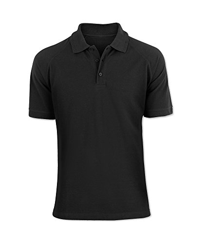 Alexandra stc-nm168bk-l Portwest Herren Polo Shirt, Uni, 60% Baumwolle/40% Polyester, Größe: L, schwarz
