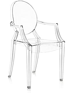 Amazon.com - Kartell Victoria Ghost Chair - Transparent Crystal ...