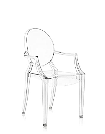 Amazoncom Original Kartell Louis Ghost Arm Chair Crystal Arts