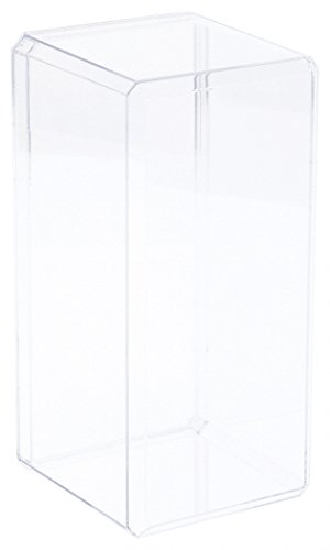 Pioneer Plastics Clear Acrylic Display Case (with Beveled Edge) 3.75