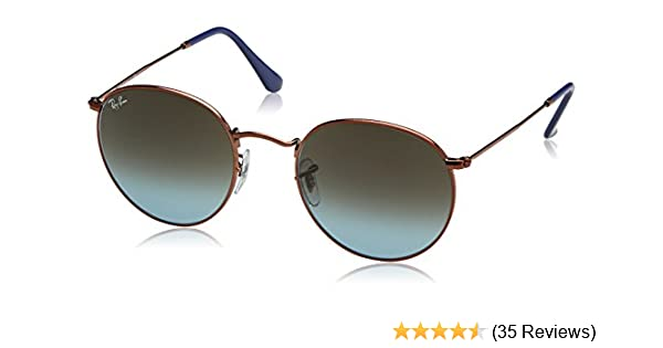 2551641ede3 Amazon.com  Ray-Ban Round Metal Sunglasses  Clothing