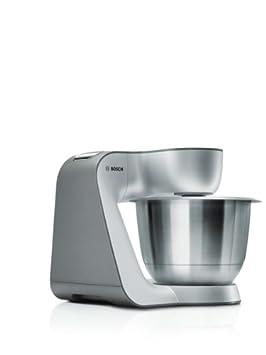 Amazon.de: Bosch MUM56S40 Küchenmaschine Styline MUM5 (900 Watt, 3.9 ...