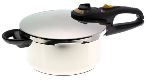 Fagor Duo Stainless-Steel 4-Quart Pressure Cooker by Fagor