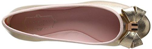 Ted Baker Damer Immet 2 Lukkede Ballerinaer Guld (rosa Guld) Wnvy9