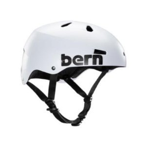 Bern Unlimited Macon Hard Hat Summer with Distress Logo, 3X-Large, Satin White