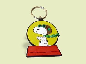 Schleich 22393 - Llavero con diseño de Snoopy disfrazado de Barón Rojo