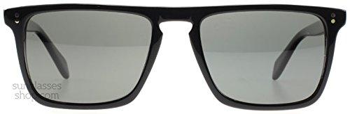Oliver Peoples 0OV5189S 1005N5 Black Bernardo Square Aviator Sunglasses Polaris