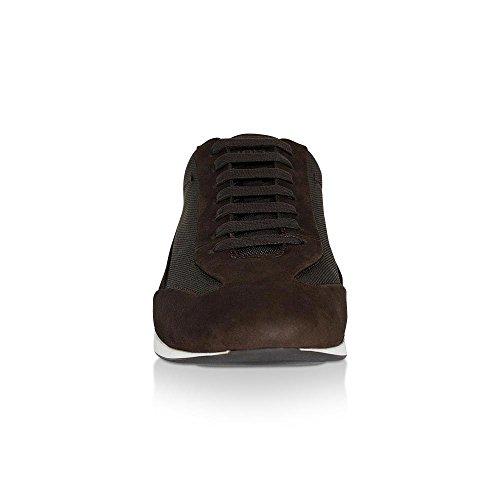 Hugo Boss Herre Sneaker Fulltime_nuny, 50321670 Mørkebrun