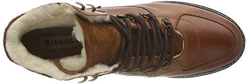 Warm Marron cognac Boot Femme Bianco Hiking 240 Bottines dqnXPEfxw