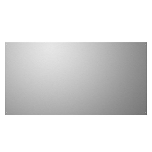 Stainless Steel Backsplash, 30 X 24, Flat - Stove Side Panels