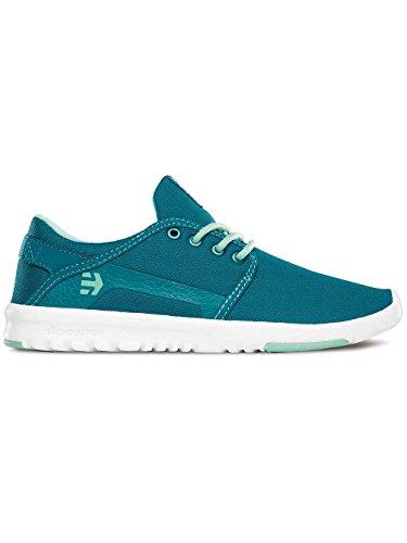 Etnies donna W'S Blu Sneakers Scout da Bianco SAr1nwSvOx