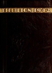 (Custom Reprint) Yearbook: 1942 East Mississippi Community College - Lion Yearbook (Scooba, MS)
