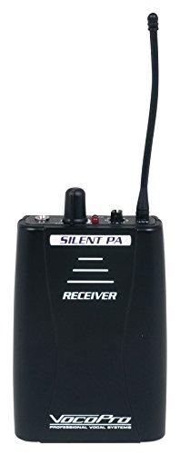 VOCOPRO Audio Broadcast System, black, 4.00 x 4.00 x 8.00 (SilentPA-RX)
