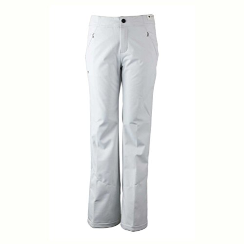 Obermeyer Women's Hillary Stretch Pant White 2 (Womens Obermeyer Snow Pants)