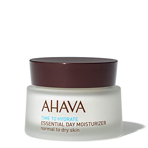 AHAVA Essential Day Facial Moisturizer with Active Dead Sea Minerals - Normal to Dry