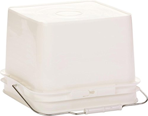 Little Giant Farm & Ag BKTFDR2 Bucket Feeder, 2 gallon White