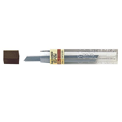 Pentel Super Hi-Polymer Lead, 0.3mm, HB, Box of 12 Tubes (300-HB) by Pentel (Image #1)