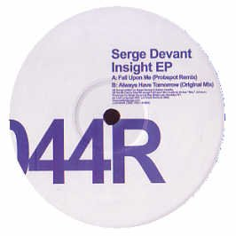 Serge Devant - Insight EP (Disc Two)