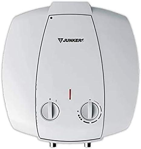 Junkers Grupo Bosch Termo Electrico 10 litros Interior Elacell Pequenos Litrajes | Calentador de Agua Vertical, Resistencia Ceramica, 1500w