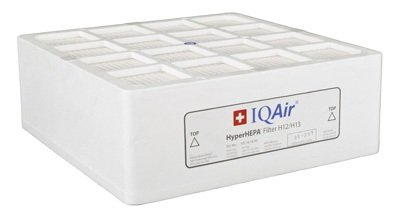 IQAir Certified HyperHEPA Replacement Filter [Medical-Grade Air] Allergies, Pets, Asthma, Odors, Smoke, Pollen, Dust; Swiss ()