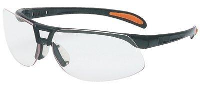 Protégé Eyewear, Clear Lens, Polycarbonate, UvextraAF, Sandstone Frame, Nylon (66 Pairs)
