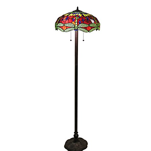 Dragonfly Traditional Floor Lamp - 5