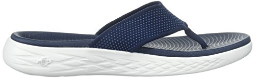 Blu Go Skechers Navy On Punta a Sandali Aperta The Uomo 600 1q6Ha