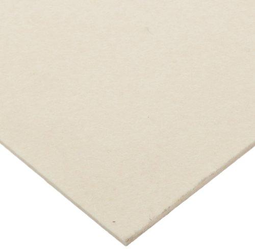 Small Parts Grade S2-32 Pressed Wool Felt Sheet, White, M...