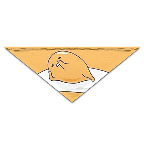 OLOSARO Dog Bandana Lazy Egg Triangle Bibs Scarf