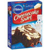 (Pillsbury Cheesecake Swirl Brownie Mix 15.5 oz )