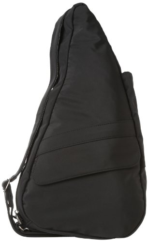 AmeriBag X-Small Microfiber Healthy Back Bag Tote, Black , One Size ()