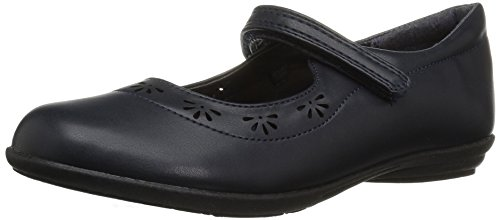 The Children's Place Girls' E BG UNIF Class Uniform Dress Shoe, New Navy, Youth 4 Youth US Big - Uniform New Navy