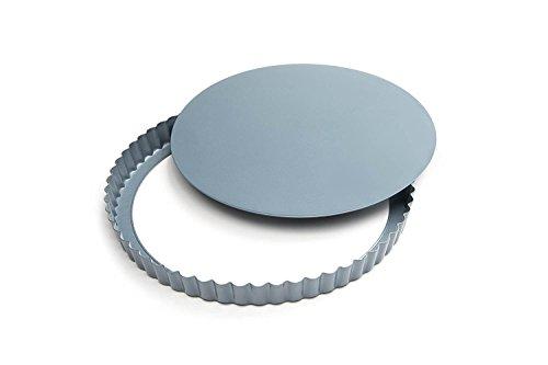 Fox Run 4435 Loose Bottom Quiche Pan, Carbon Steel, Non-Stick, 9.375-Inch by Fox Run