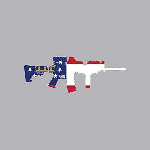 Georgia State Shape AR15 Sticker Vinyl Decal Sticker for sale  Delivered anywhere in USA