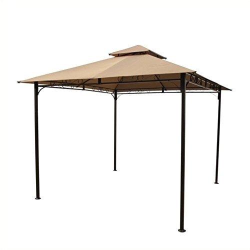 International Caravan Square Vented Canopy Gazebo