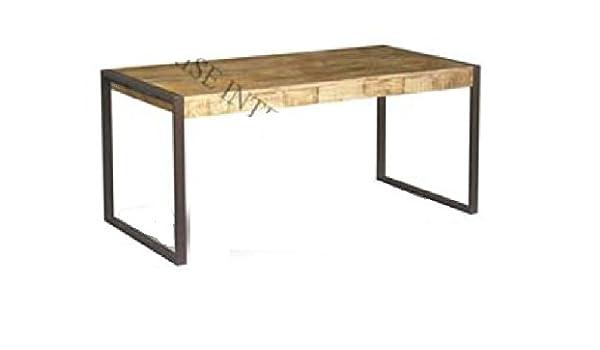 GELUSA Mesa para Salon Comedor o Mueble Mesa de Salon Vintage ...