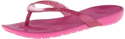 Crocs Kvinner Virkelig Sexi Glitter Flip-flop Fuchsia / Fuchsia