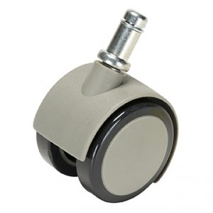 Caster, Soft Wheel for Hard Floors (Set of 5 Gray Wheels) by DCI