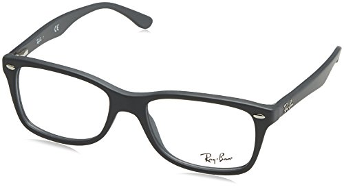 Ray-Ban Women's RX5228 Eyeglasses Sand Grey 53mm by Ray-Ban