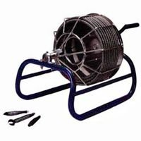 Electric Eel KK-1/2IC50  Drain Snakes/Augers Manual, 1/2' x 50' Drain Cleaner by Electric Eel