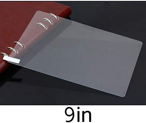 Tivollyff 9インチタブレットに適した耐久性のある強化ガラススーパークリア透明フルカバー保護スクリーンフィルム