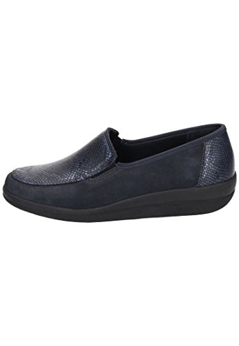 Comfortabel Damen Slipper Blau