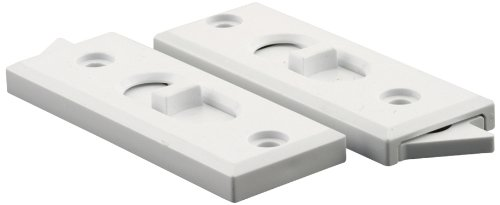 Spring Window (Prime-Line Products F 2627 Spring Loaded White Sliding Window Tilt Latch, 1-Pair)
