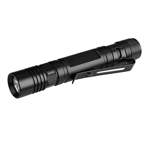 Odrongren Portable Ultra Bright Handheld LED Flashlight with Adjustable Focus, Outdoor Water Resistant LED Tactical Flashligh Work Light Flashlight,Perfect for Camping Biking Hiking Home - Tactical Focus Beam