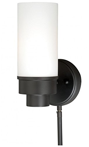 Vaxcel W0178 Tube Smart Lighting Indoor Wall Light, New Bronze Finish