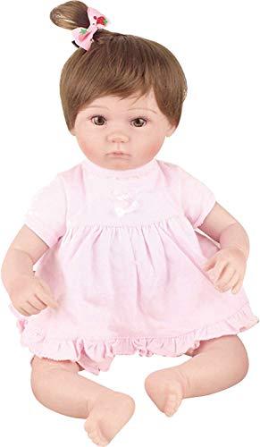 Bebê Reborn Laura Baby Mia Shiny Toys Morena