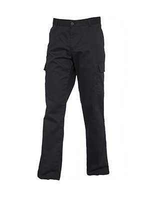 77982398ae7bc4 UC905 - Ladies Cargo Trousers (245 GSM) - Black - Ladies Size 16 ...